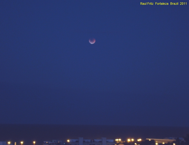 Total eclipse of the Moon (June 15, 2011, 21:03 GMT)